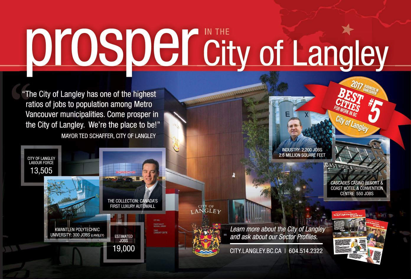 Prosper in the City of Langley